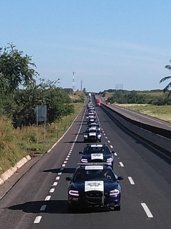 Se fortalecen carreteras federales y de cuota con vigilancia