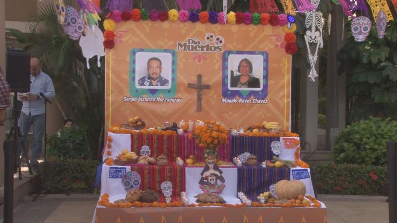 Honran memoria de Sergio Inzunza y Magaly Reyes