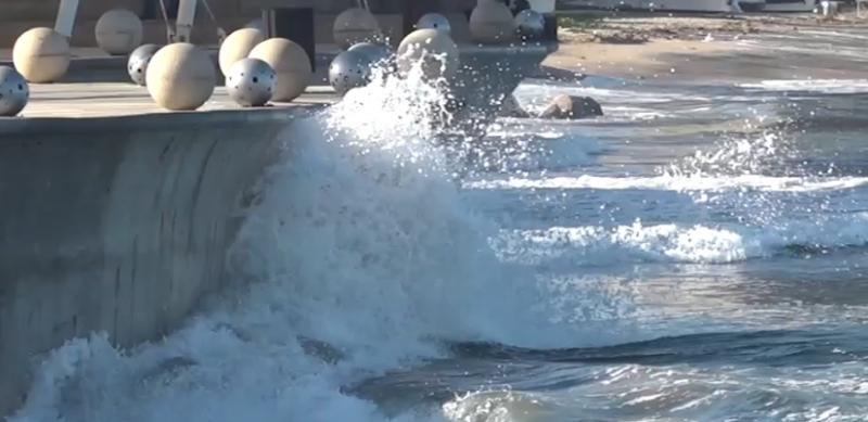 Escuadrón Acuático emite recomendaciones por mareas en Mazatlán