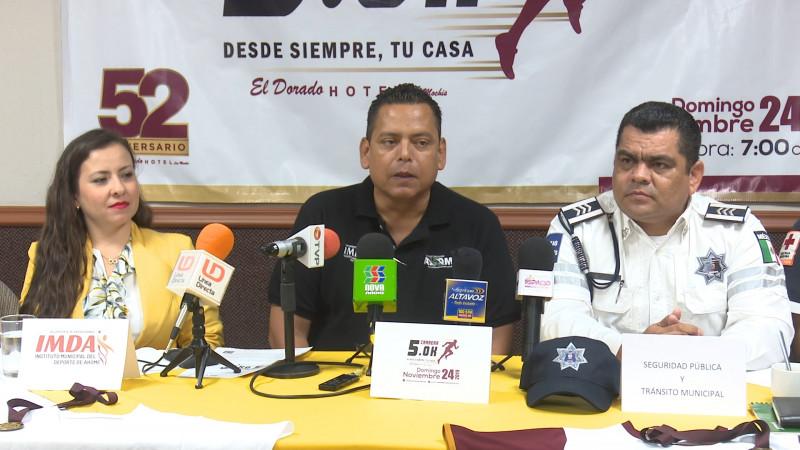 Invitan a la tercer carrera pedestre de hotel EL DORADO