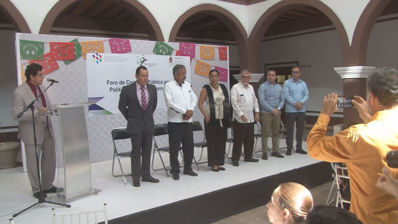Integran documento para conformar la Política Estatal Anticorrupción