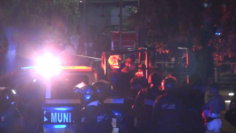 Operativo de Halloween deja 250 detenidos en Culiacán