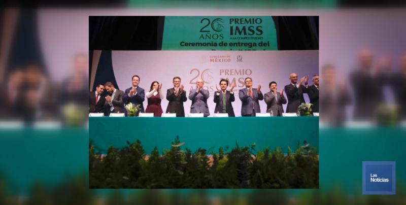 IMSS premió competitividad de Delegaciones Estatales