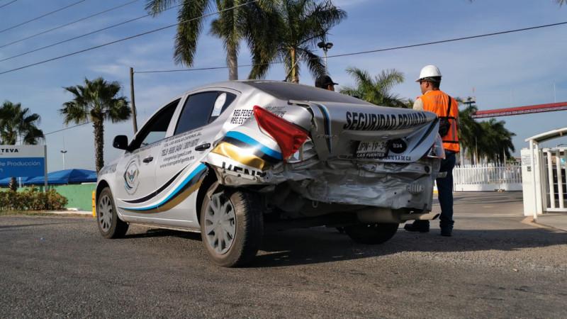 Se registra accidente sobre la carretera Culiacán-Eldorado