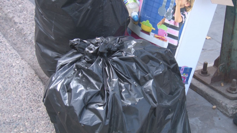 Siguen los problemas  de recolección de basura