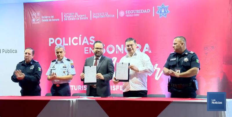 """""""Policía en Sonora con Actitur"""" arrancó en Sonora"""