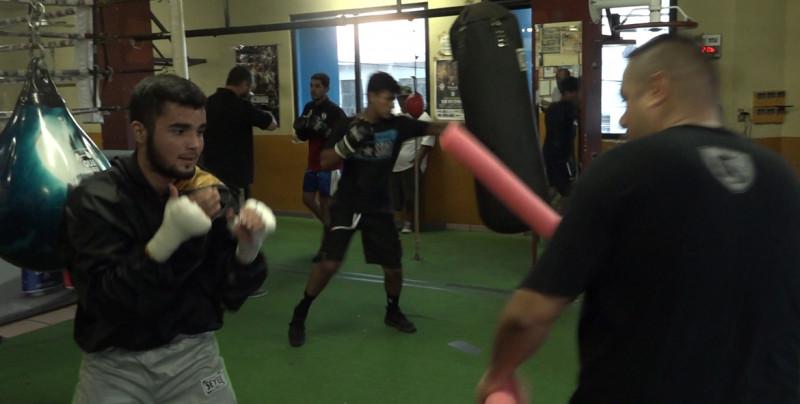 """Los boxeadores de """"Noche de Guerreros"""" cerraron su preparación"""