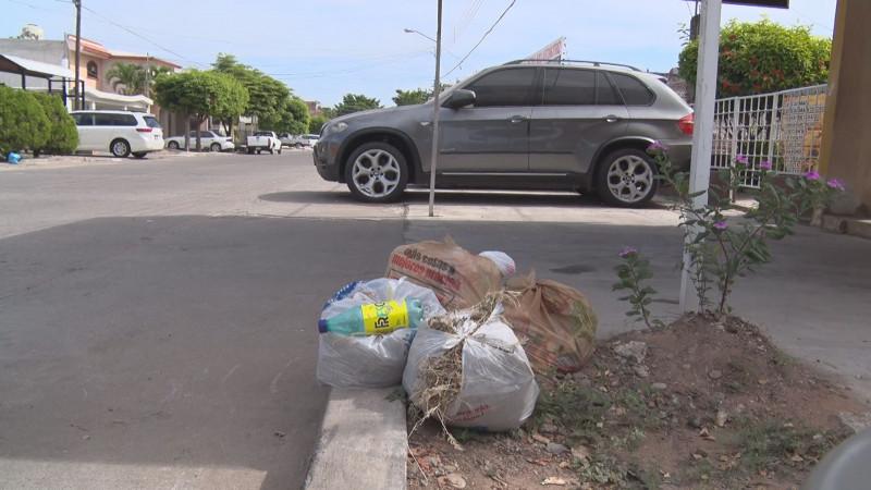 Foco de infección la basura acumulada en la colonia Las Vegas