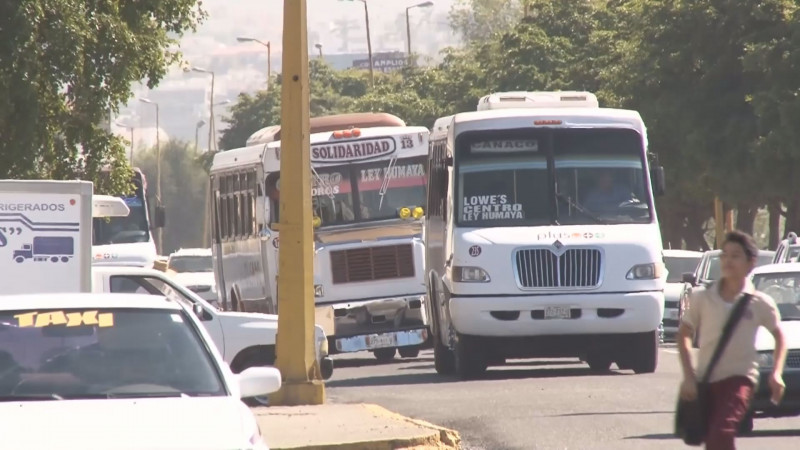 Se incrementan multas en trasporte público en un 15%