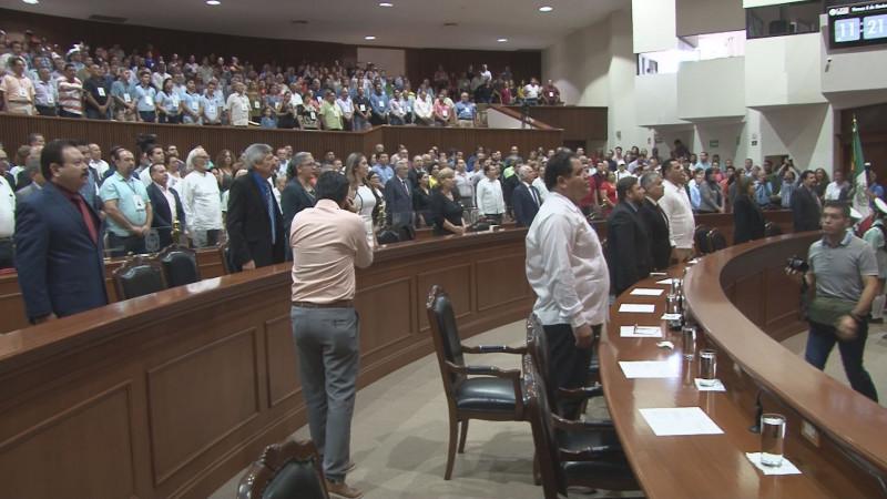 No asisten a sesión diputados que intentaban quitar a Graciela Dominguez de la JUCOPO