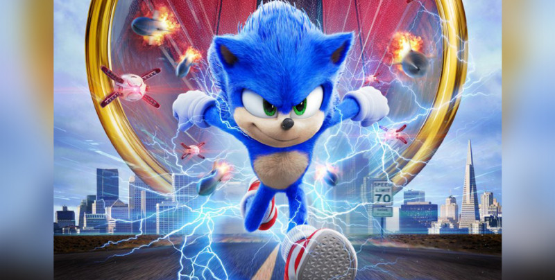"Sale tráiler de ""Sonic: The Hedgehog"" con Jim Carrey"