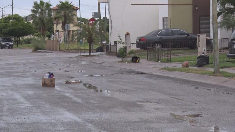 Invadidos de basura en el fraccionamiento Rincón Real