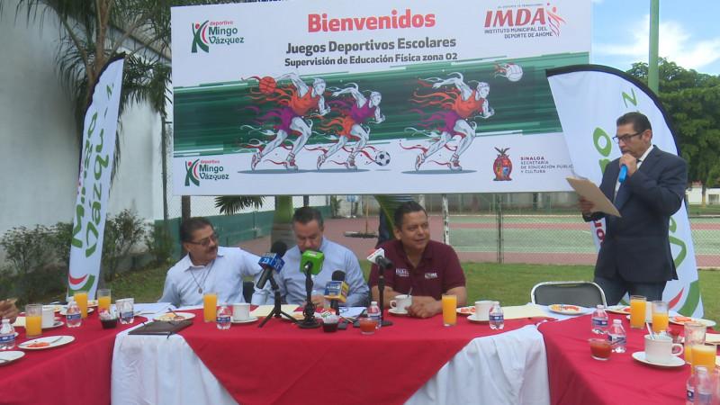 Presentan la Liga Deportiva Escolar