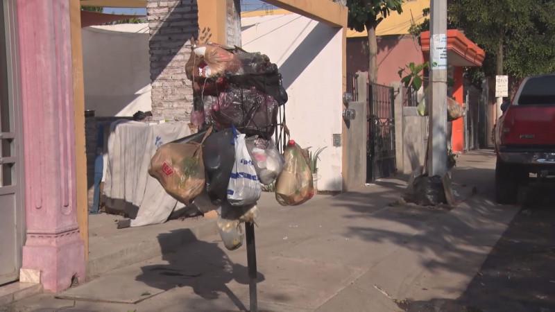 El problema en la recolección de basura en Culiacán se agudiza en los días feriados
