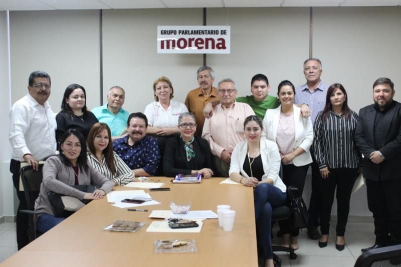 Ratifica GP de MORENA a Graciela Dominguez como coordinadora