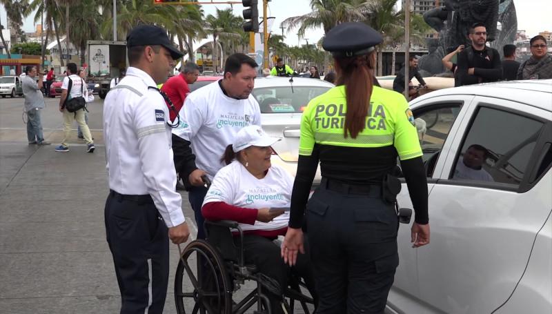 Fomentan la inclusión de las personas con discapacidad