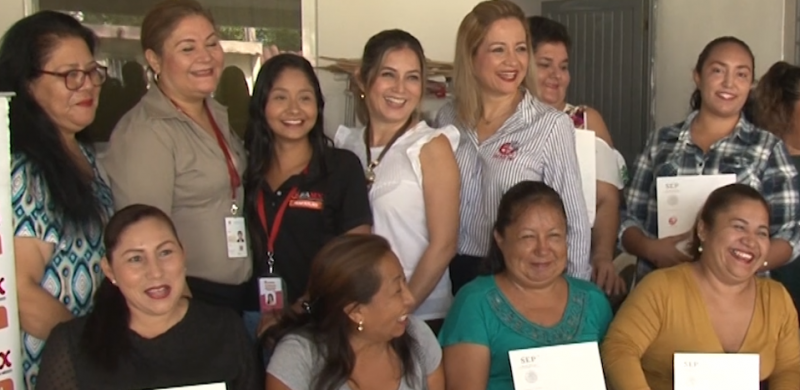 Banco de Alimentos apoya a vecinos de la Colonia Flores Magón con curso de capacitación