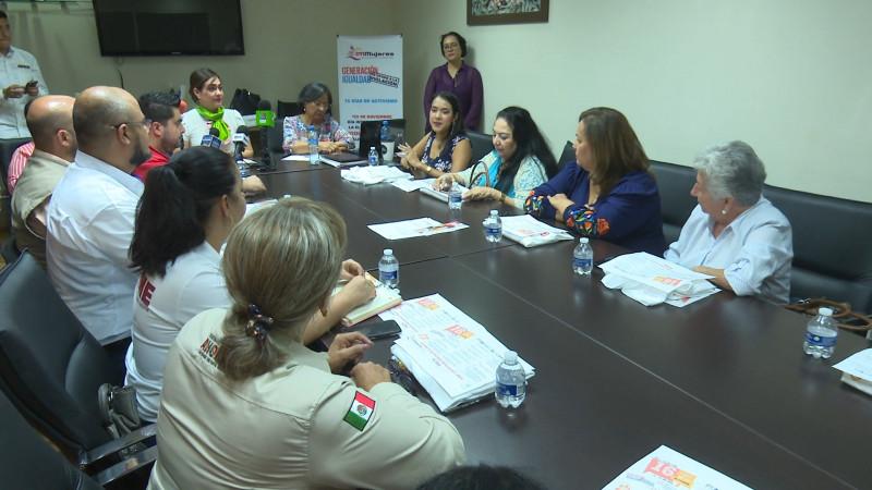 Se preparan  para los 16 días de activismo contra la violencia a las mujeres
