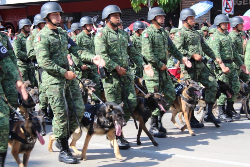 Atención, cierre de calles por desfile militar