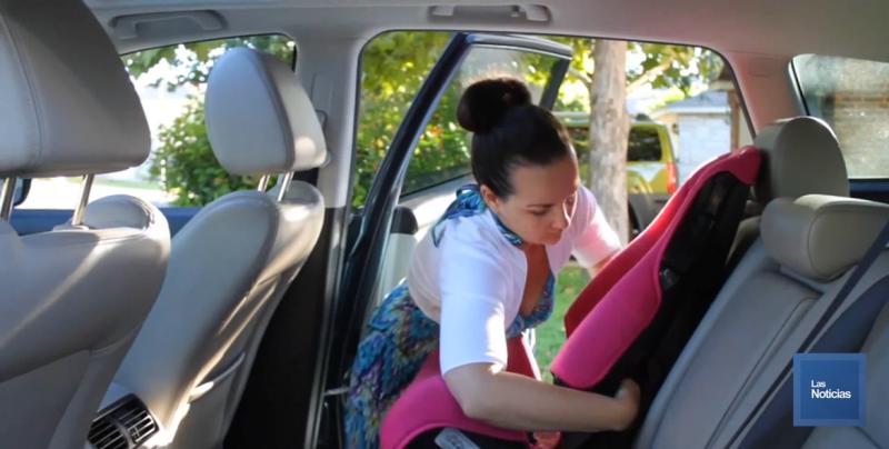 Pese a cultura de uso de sillas de seguridad para niños, aún hay padres inconscientes