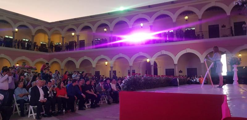 Rinde primer informe la alcaldesa Nubia Ramos