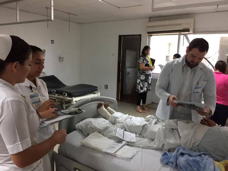 Reciben primera parte de aguinaldo trabajadores de salud