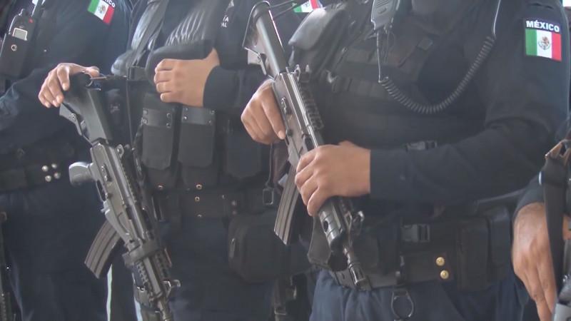 La Secretaría de Seguridad en Culiacán está a la espera de armas y municiones