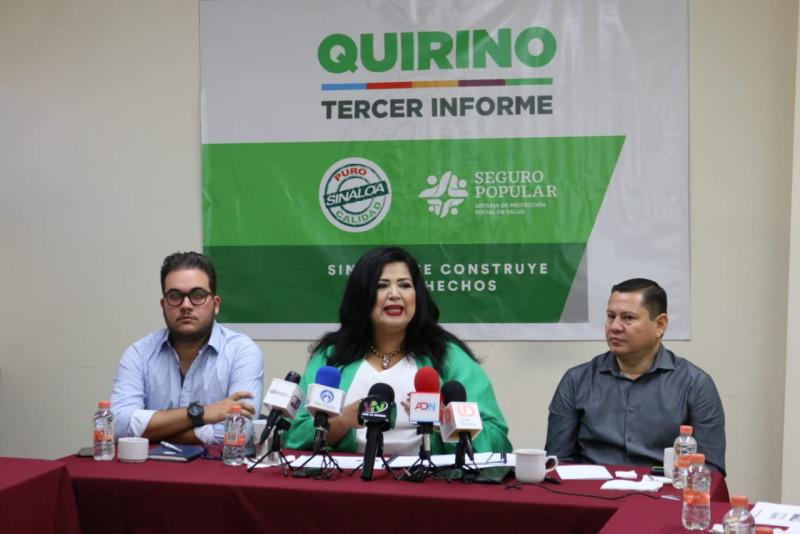 Seguro Popular fortalece política en salud del Gobernador Quirino Ordaz en 2019 con inversión histórica en hospitales