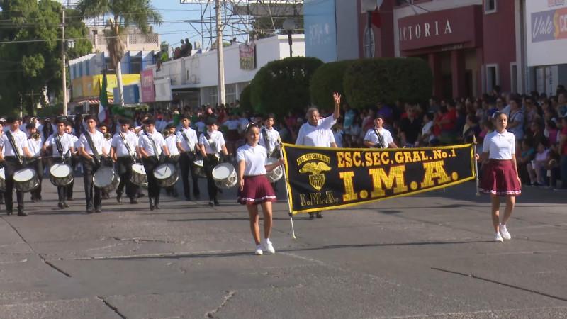 Vigilaron música utilizada durante desfile
