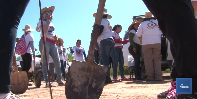 Madres Buscadoras encuentran tres cuerpos en Hermosillo; suman 76 en seis meses