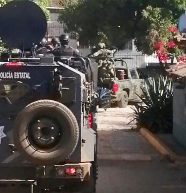 Se movilizan fuerzas de seguridad ante aviso de enfrentamientos en el sur de Sinaloa