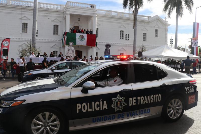 Cierre de calles por el desfile conmemorativo a la Revolución Mexicana