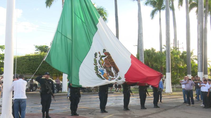 Conmemoran 109 años de Revolución Mexicana