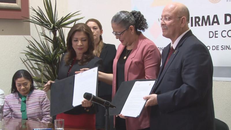 Firma la UAS con el Congreso convenio Marco de Colaboración