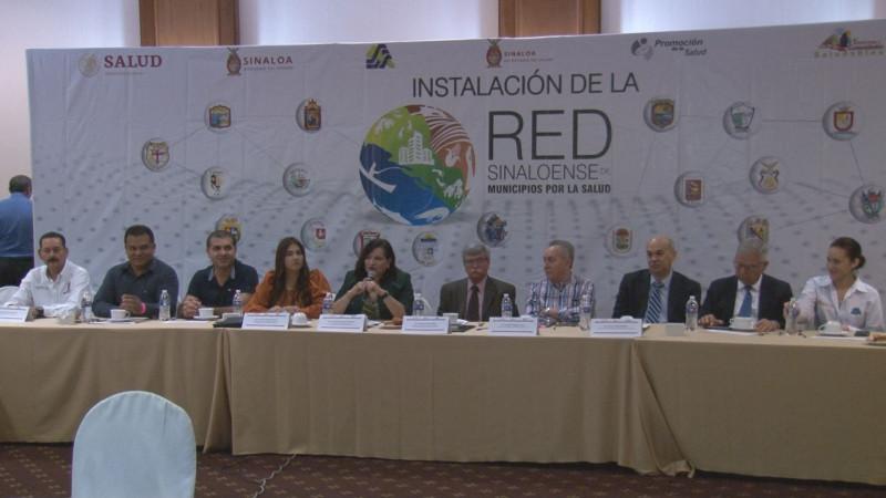 Se instaló la Red Sinaloense de Municipios por la Salud