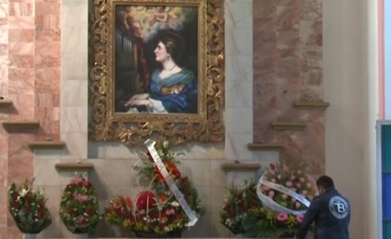Decenas de músicos le cantan a Santa Cecilia en su día