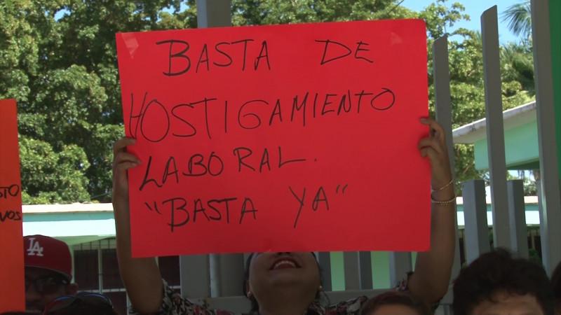 Realizan paro laboral solidario en ICATSIN Mazatlán