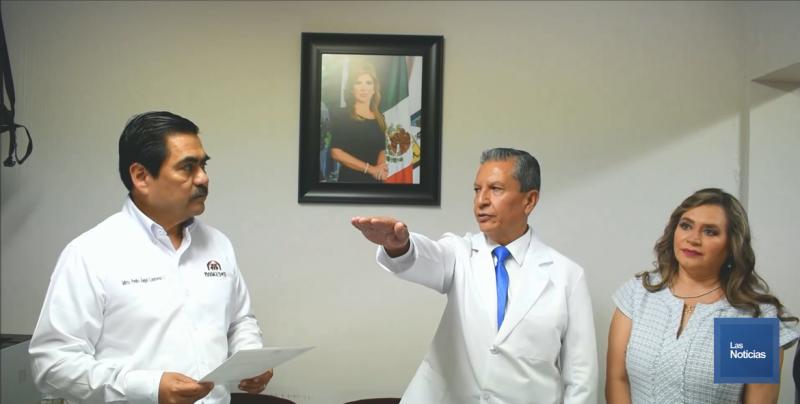 """Hospital """"Adolfo López Mateos"""" de ISSSTESON, tiene nuevo director"""