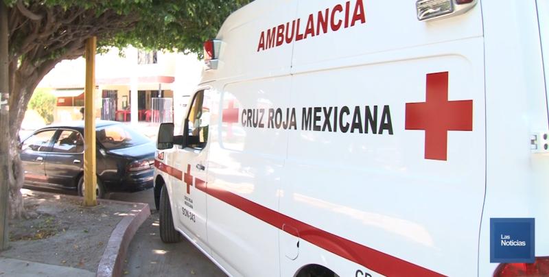 Resulta con fractura peatón arrollado por ambulancia