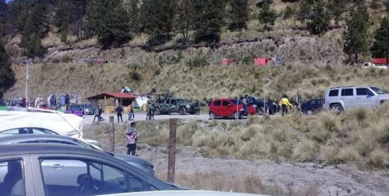 Secuestran a actor de El Señor de los Cielos y a turista francés en el Nevado de Toluca