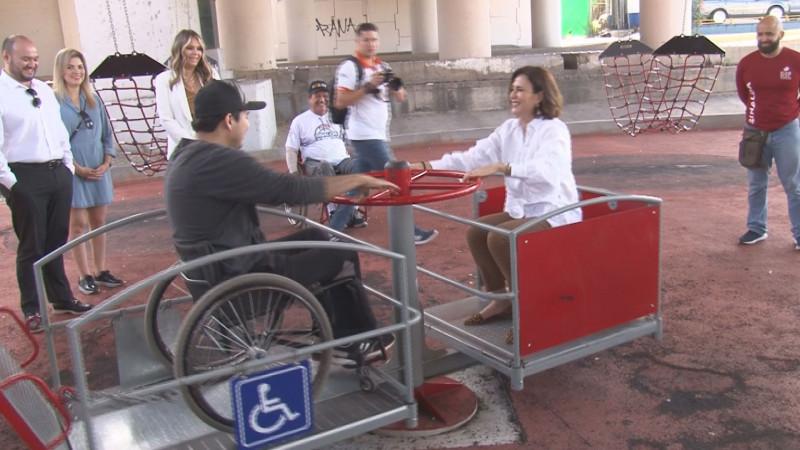 Llama Rosy Fuentes a cuidar juegos para discapacitados