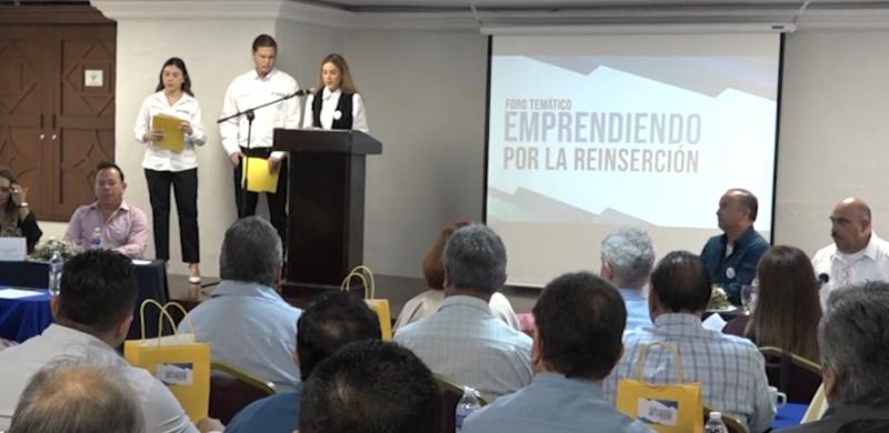 """Realizan en Mazatlán foro temático """"Emprendiendo por la Reinserción"""""""