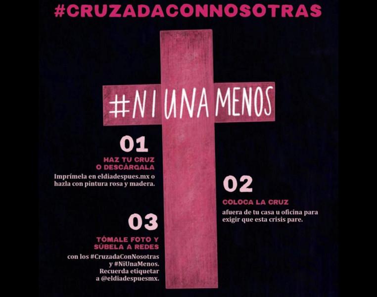 Sinaloa y Mazatlán en la #CruzadaConNosotras