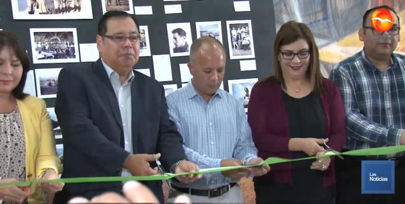 Inaugura Alcalde exposición fotográfica y arranca Festival Tetabiakte