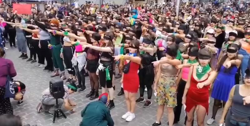 """""""EL VIOLADOR ERES TÚ"""", Canción de protesta de las mujeres en Chile que se hizo viral"""