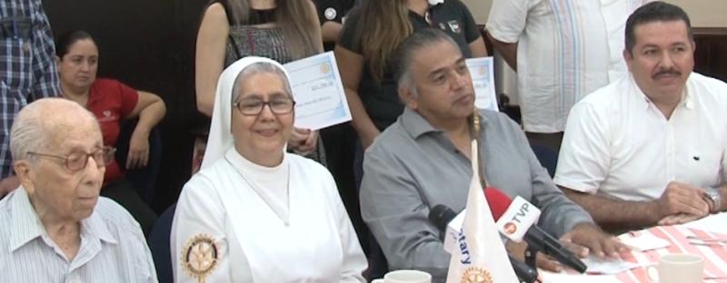 Verbena Rotaria Mazatlán logra recaudar 259 mil pesos; 105 mil van destinados al Asilo de Ancianos