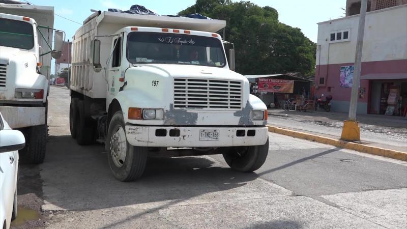 Cerrarán en números rojos transportistas de carga en Mazatlán