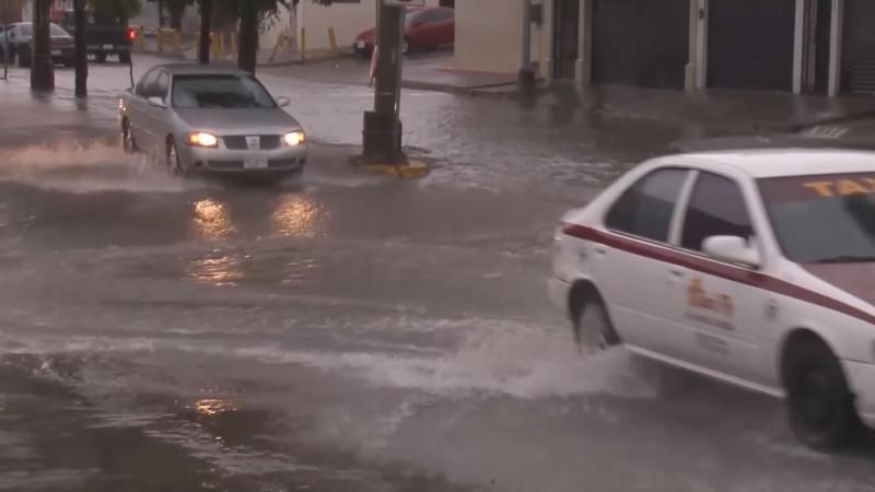 Alertan por lluvias torrenciales en Sinaloa