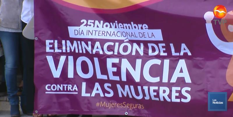 Se unen a las acciones de la lucha contra la violencia de las mujeres
