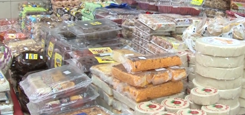 Muy solicitados los dulces tradicionales mexicanos en diciembre
